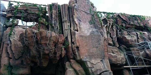 紹興水泥雕塑假山施工公司 服務為先「南京宏科景觀工程供應」