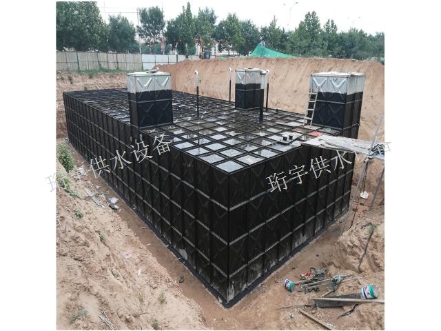 南京通用不锈钢地埋式水箱 杭州珩宇供水设备供应