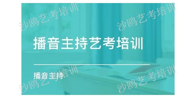 山东专业传媒艺考集训 值得信赖「杭州沙鸥艺术培训供应」