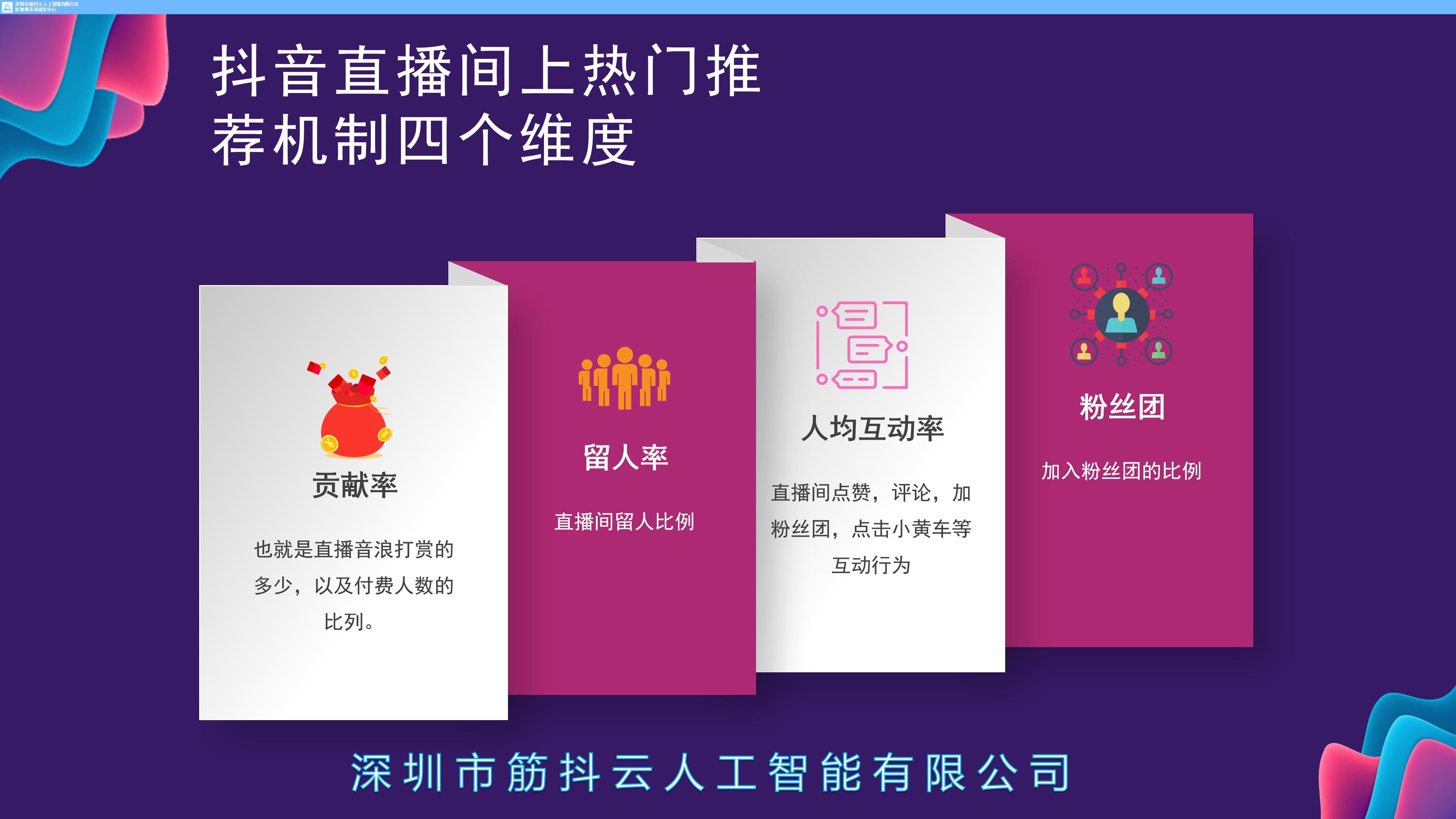 提供深圳市直播营销定位批发筋抖云人工智能供应