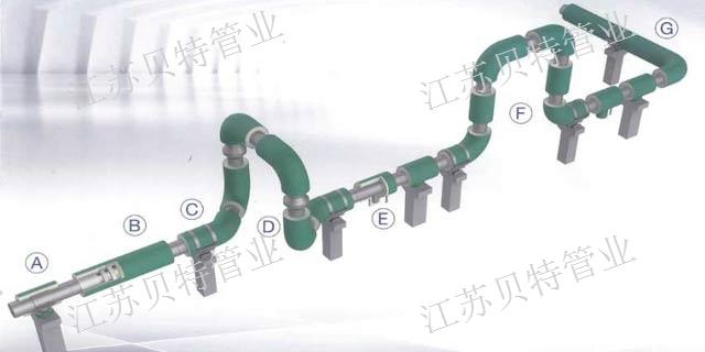 泰州聚氨酯直埋保溫鋼管公司  江蘇貝特管件供應
