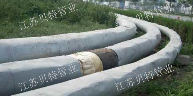 泰州聚氨酯发泡直埋保温螺旋钢管公司  江苏贝特管件供应