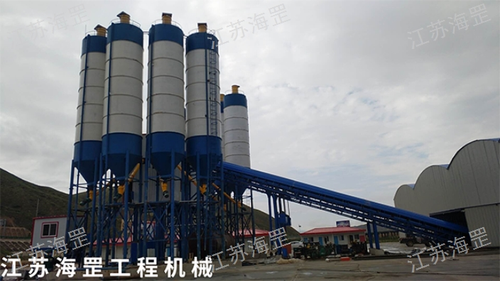 湖北本地混凝土攪拌站/樓哪里有 服務為先 江蘇海罡工程機械供應