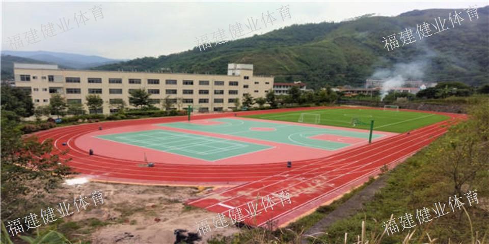 武平县正规篮球场 硅PU丙烯酸 福建健业体育设施工程供应