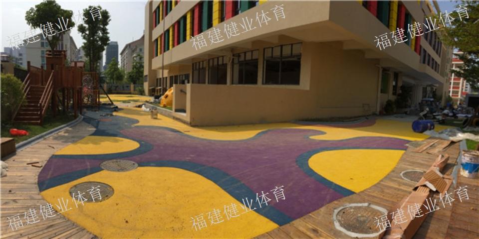 厦门省标篮球场 球场 福建健业体育设施工程供应