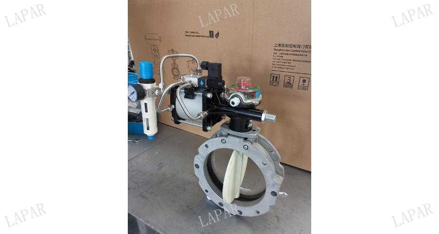 江蘇高性能雙偏心軟密封蝶閥質量怎么樣 歡迎來電 藍帕控制閥門供應