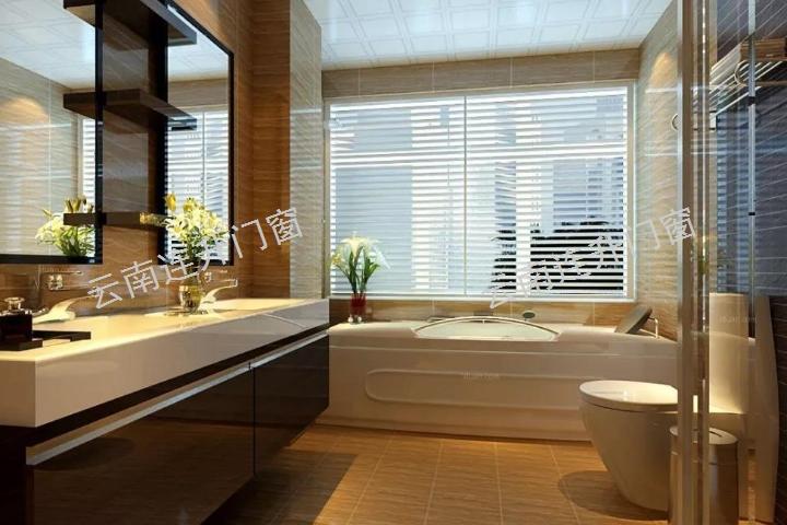云南酒店衛浴房裝修價格 云南連升隔音門窗廠家供應