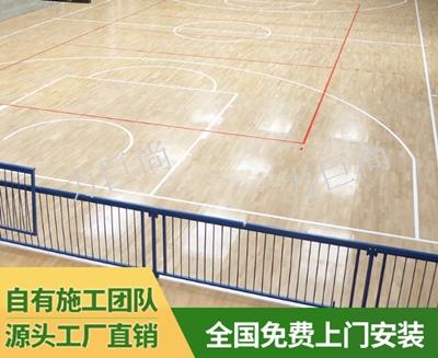 篮球馆木地板厂 值得信赖「新疆力巨尚体育用品供应」