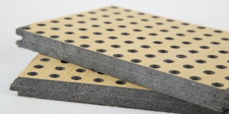 宜昌多孔吸音板制作 武汉零音装饰材料供应