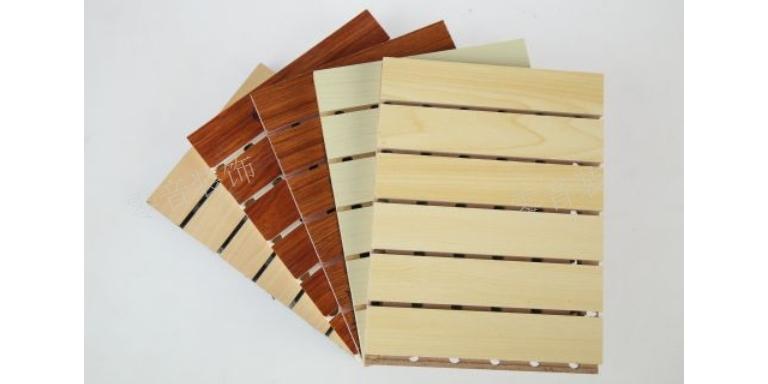 上海白枫木吸音板 武汉零音装饰材料供应