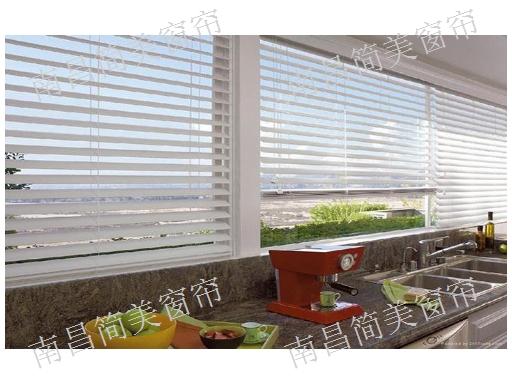东湖区电动百叶窗帘安装 欢迎来电 简美窗帘供应