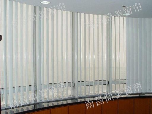 南昌法式百叶窗帘厂家批发 上门定制 简美窗帘供应