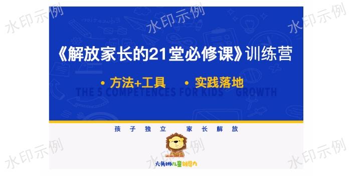 福建在线大头狮儿童领导力欢迎来电 合作共赢 南京鸿创文化传播供应