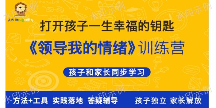 无锡素质教育大头狮儿童领导力价值 欢迎咨询 南京鸿创文化传播供应