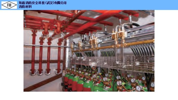 安徽数据机房用FM认证七氟丙烷气体灭火系统价格多少 信号蝶阀「海盾供」