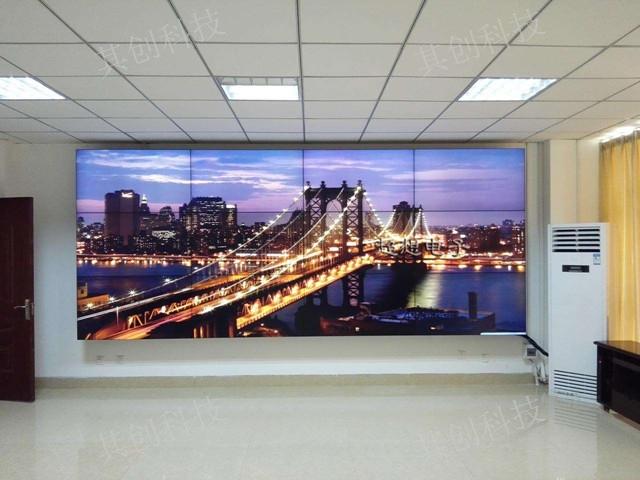 昆明窄边液晶拼接屏安装方法 服务至上 昆明其创LED显示屏全彩屏供应