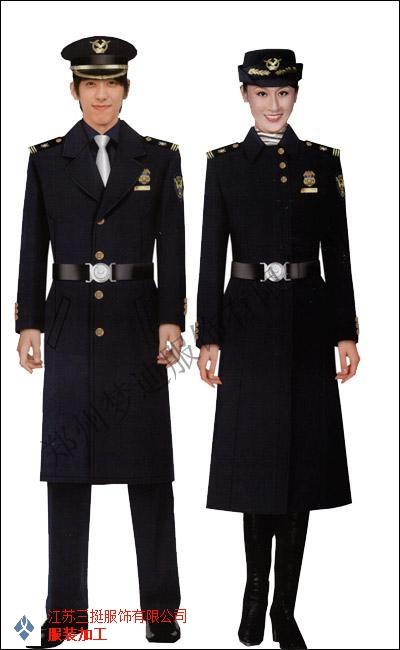天津正规保安工作服定做「江苏三挺服饰供应」