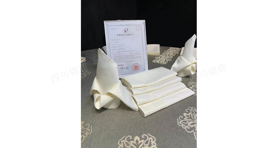雅安酒店桌布设计 创新服务「四川锦鹿酒店用品供应」