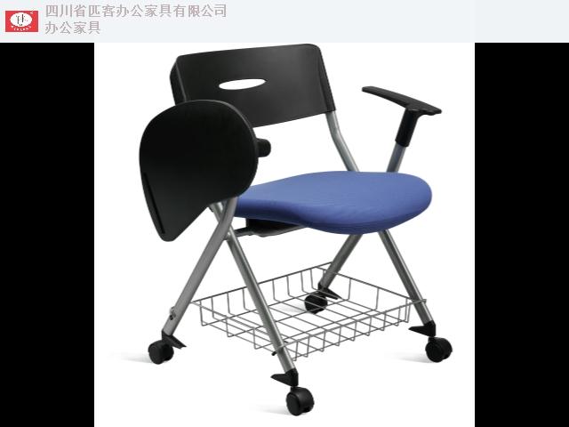 阿坝连体培训会议椅金属 有口皆碑「四川省匹客办公家具供应」