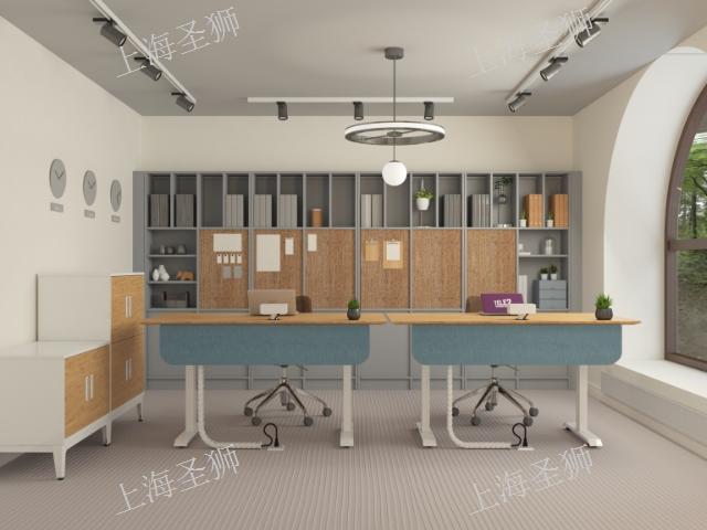 上海金山区厂家直销升降桌 诚信服务「上海圣狮办公家具供应」