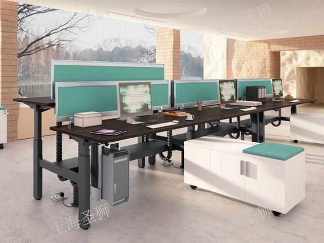 上海寶山區簡潔升降桌 誠信經營「上海圣獅辦公家具供應」