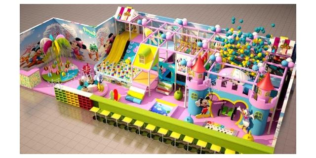 广东小型室内儿童乐园源头厂家 服务为先「上海海奇游乐设备供应」