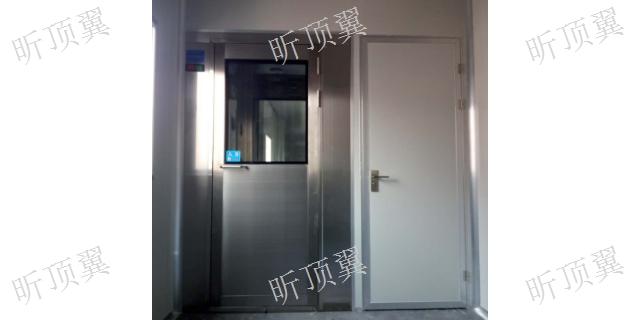 江苏自动门风淋室需要多少钱 上海顶翼环保科技供应