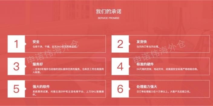 美中海外倉哪里有 歡迎來電「溫州申諾偉供應鏈供應」