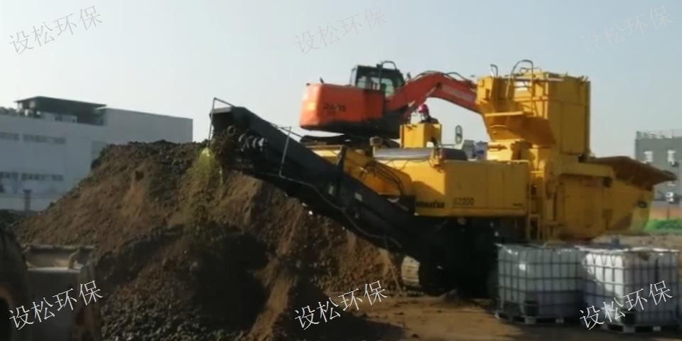 日本小松bz210土壤修复一体机租赁价格「上海设松环保工程供应」