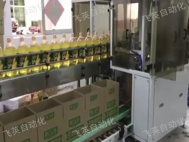 江苏易拉罐装箱机 欢迎来电 飞英自动化设备供应