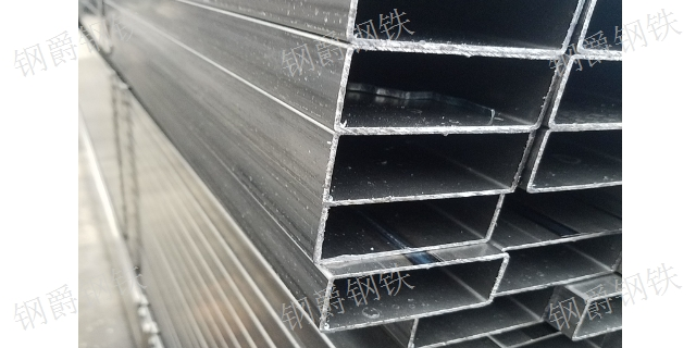 温州钢立柱矩形管 贴心服务「钢爵供」