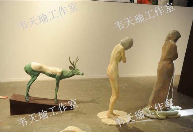 上海白色当代雕塑报价「上海广视环境艺术供应」