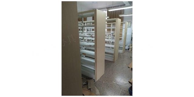 上海市金山区钢木书架厂家 密集架厂家 上海豪派办公家具供应