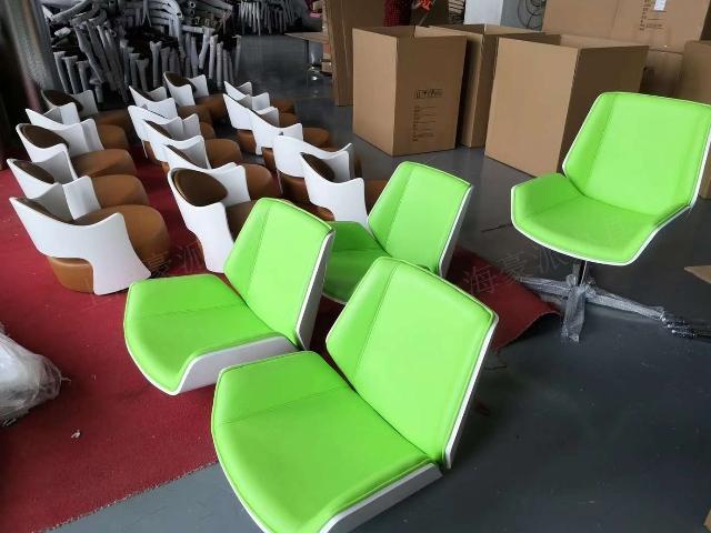 上海休闲椅供应商 办公家具厂 上海豪派办公家具供应