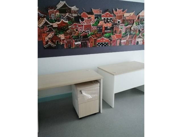 宝山办公桌小型 更衣柜厂家「上海豪派办公家具供应」