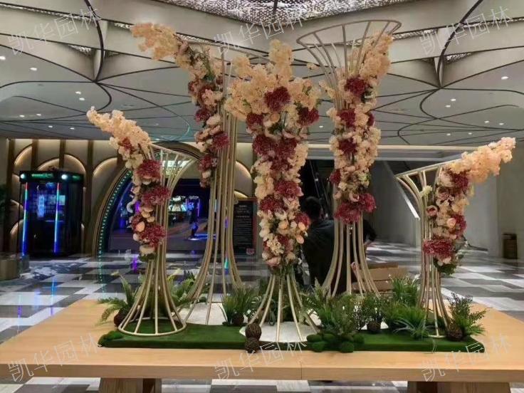 别墅花艺架构 服务为先「上海凯华园林绿化工程供应」