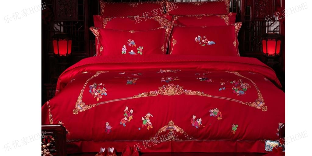 上海蕾丝婚庆四件套批发价格 欢迎咨询 乐优家供应