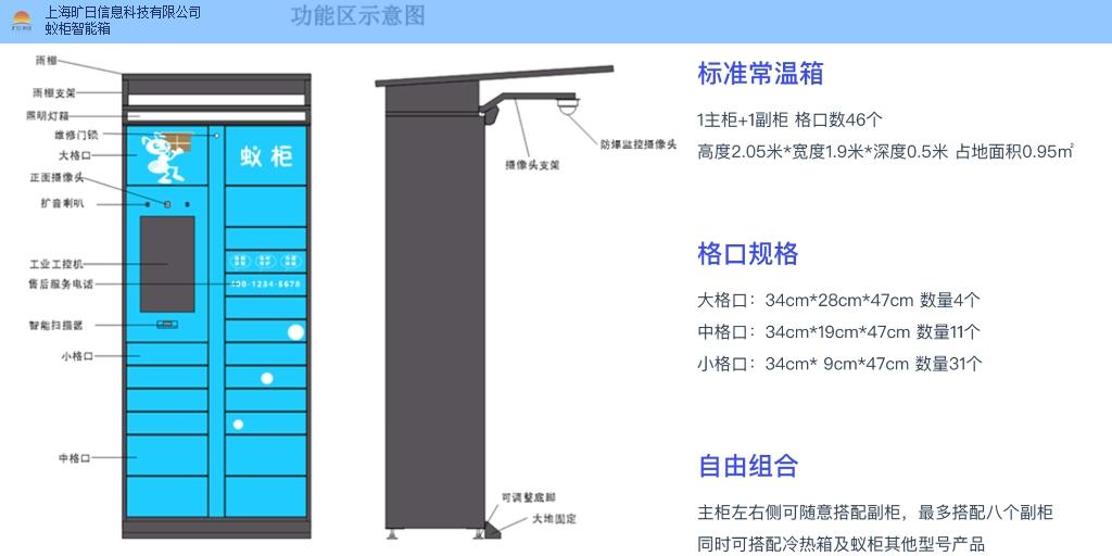 广东怎么申请安装快递柜要多少钱 值得信赖 上海旷日信息科技供应