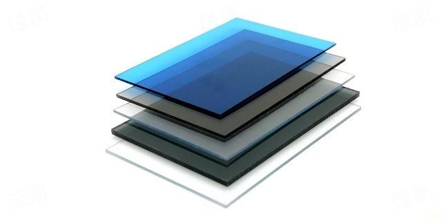 北京蓝色耐力板工厂 和谐共赢 上海绿澳新材料供应