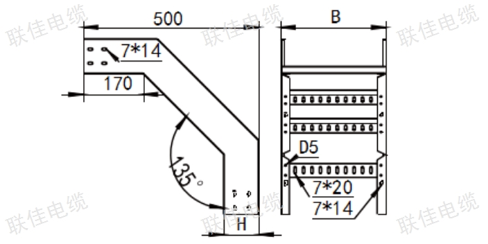 梯式型线槽报价 客户至上「上海联佳供应」