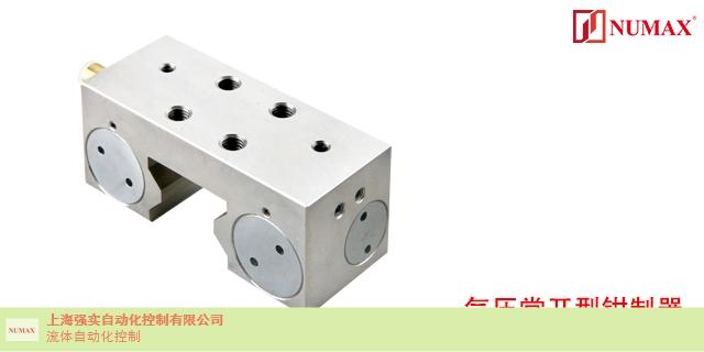 江苏通气夹紧型导轨锁气动钳制器 欢迎来电 上海强实自动化供应
