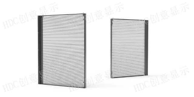 HDC幕墙led透明屏哪家比较好,HDC幕墙屏
