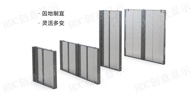 江苏专业售卖橱窗屏,HDC橱窗天幕