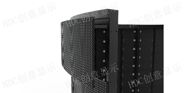 江苏好用的led柔性网格屏,HDC柔性屏软模组