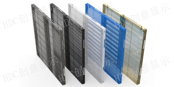 黄浦区幕墙LED透明屏样式,LED透明屏