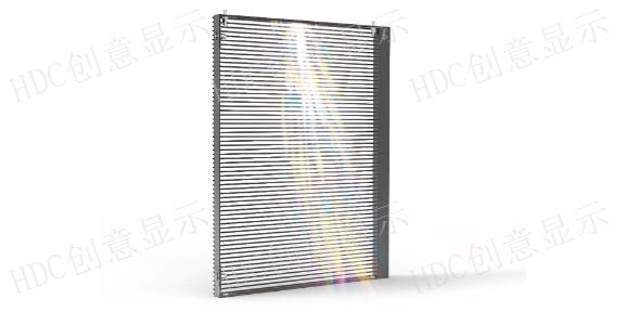浙江天幕LED透明屏多少钱,LED透明屏
