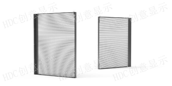 广州橱窗LED透明屏多少钱,LED透明屏