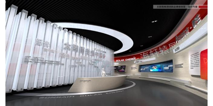 北京潮流的工业展示馆施工