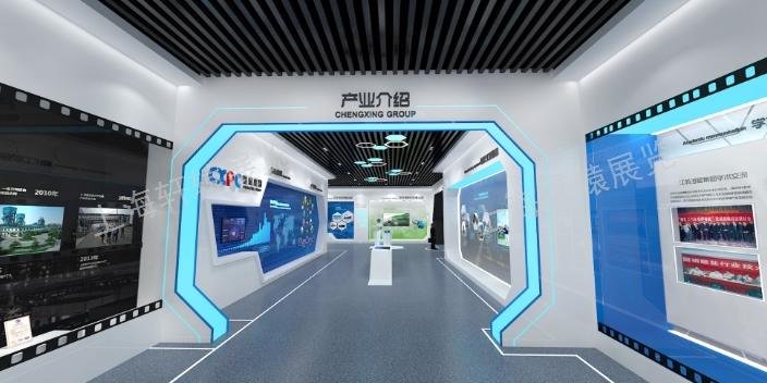 江西工业展示馆设计施工一体化