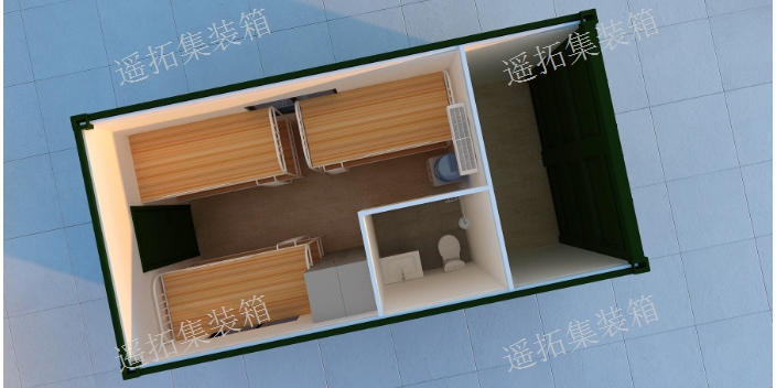 上海岗亭集装箱定做 贴心服务 上海遥拓集装箱供应